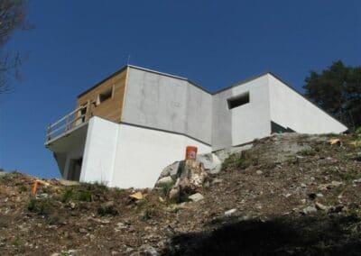 Moderner Betonbau in Österreich